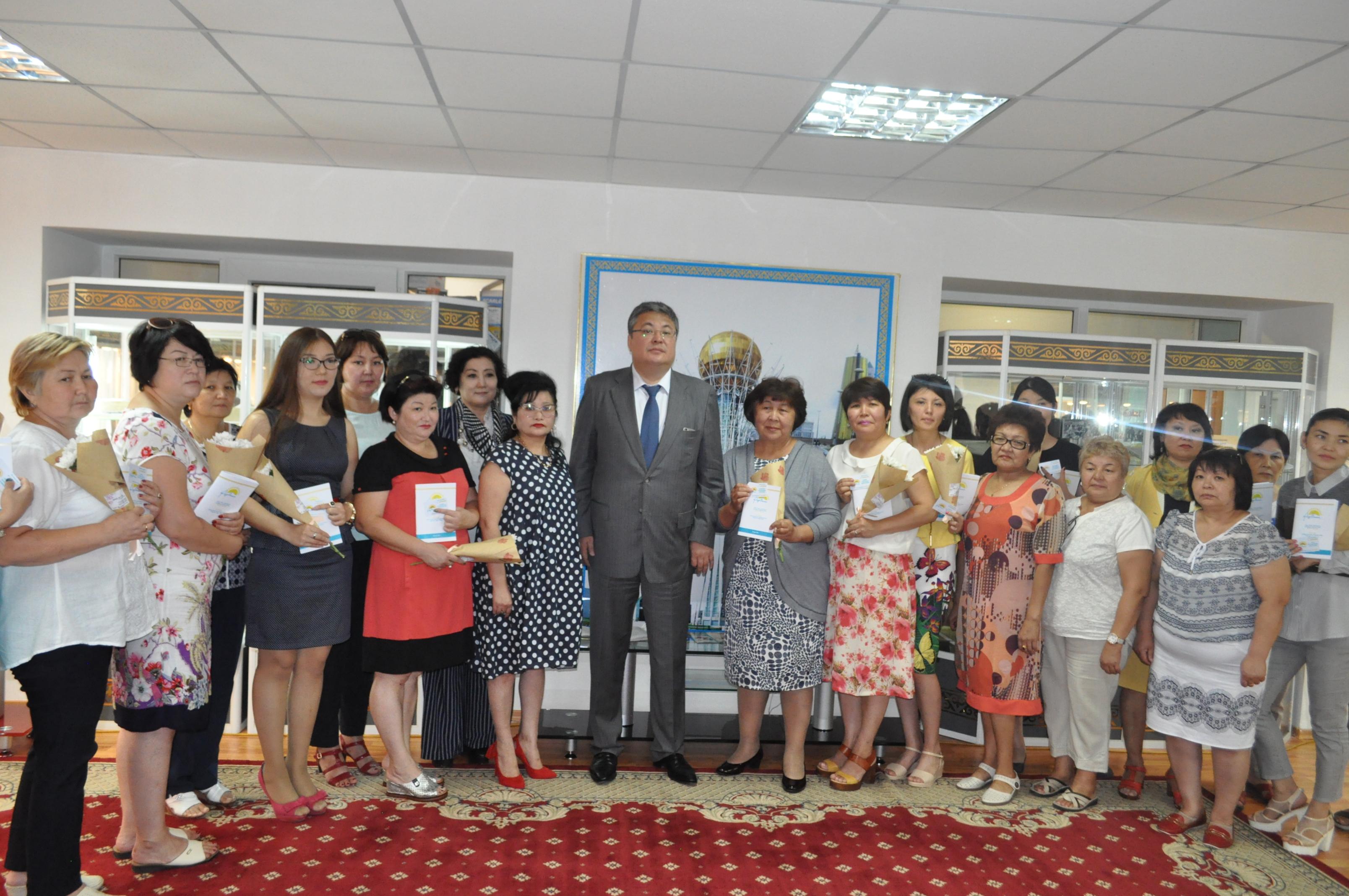 Астана қаласының Мемлекеттік мұрағаты «Нұр Отан» партиясының қатарында