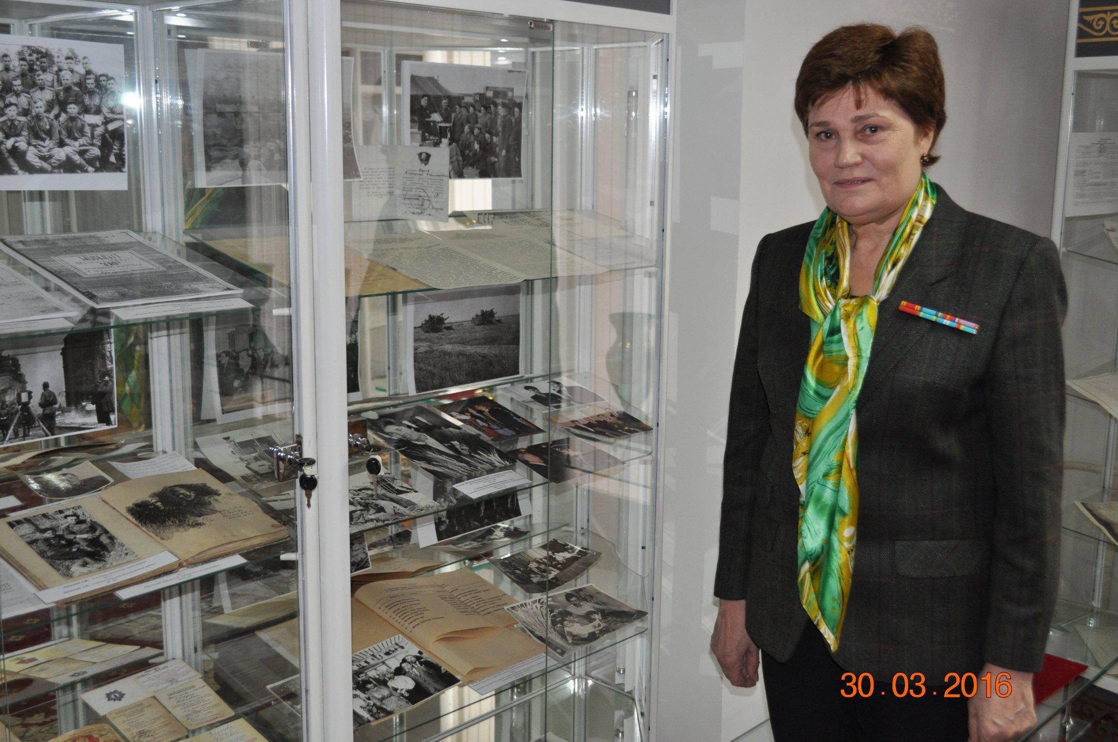 30 марта текущего года в читальном зале ГУ «Государственный архив города Астаны»  прошла встреча с фондообразователем Н.В.Геллерт.